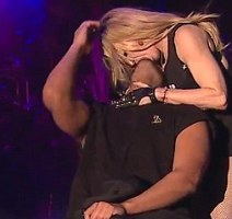 Madonna Kisses Drake